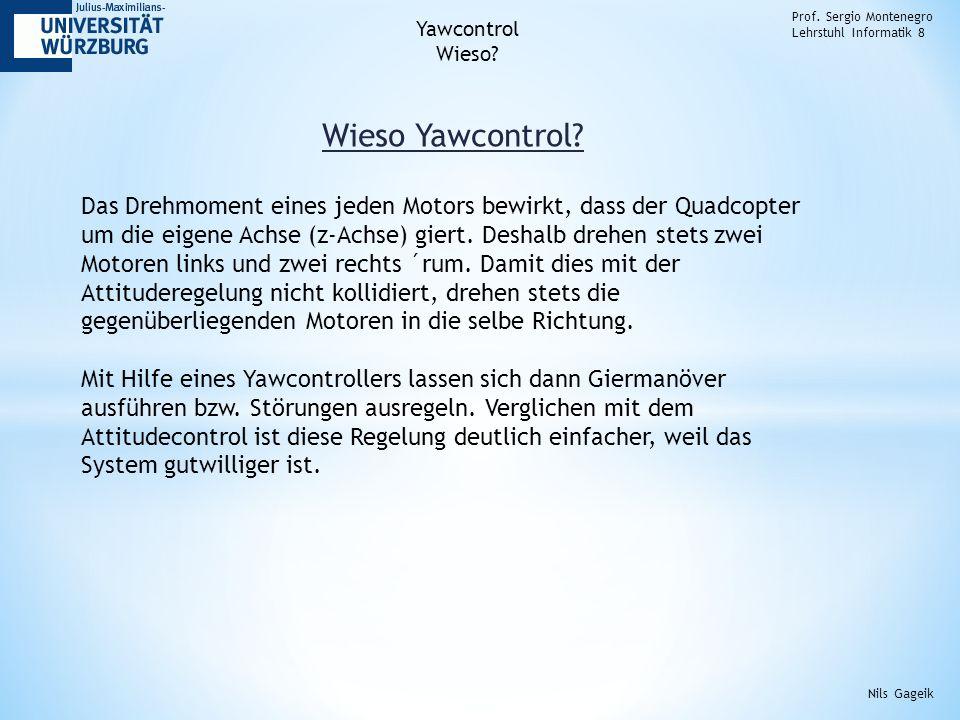 Wieso Yawcontrol. Prof.