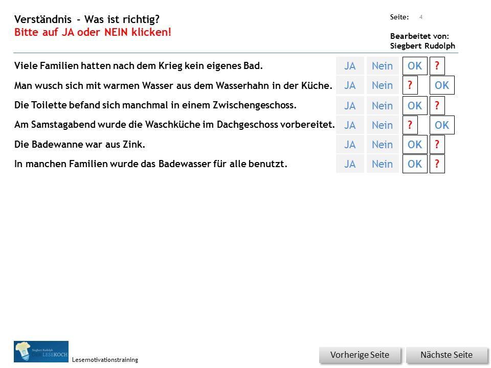 Übungsart: Seite: Bearbeitet von: Siegbert Rudolph Lesemotivationstraining 3 18 Badetag – bitte klicken.