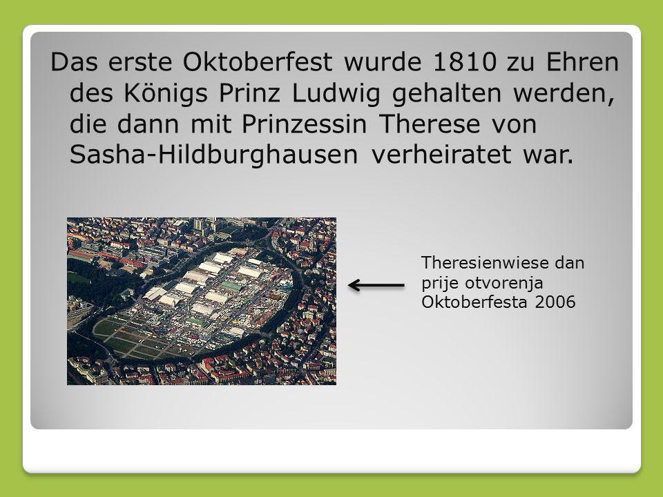 Für Oktoberfest Münchner Brauereien mit einem höheren Anteil an Alkohol spezielle Wiesn Bier produzieren, so dass es enthält 6-7%.