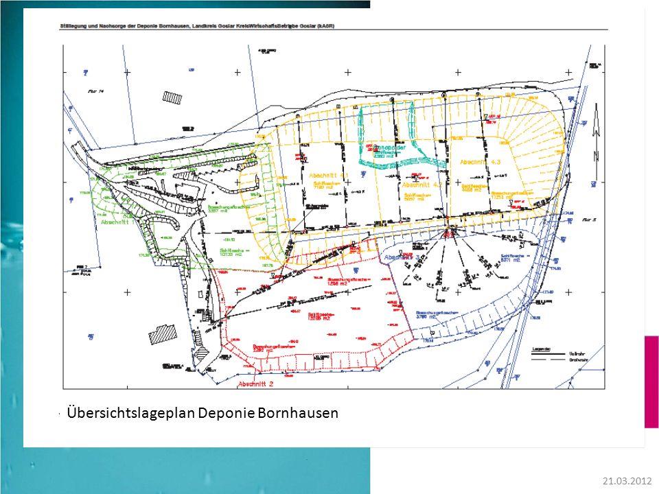 21.03.2012 Übersichtslageplan Deponie Bornhausen