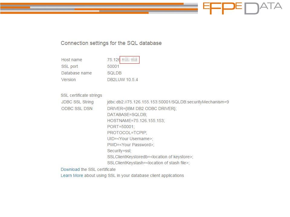 """Anwendungsfälle Bluemix Testen neuer Features auch ohne interne Produktfreigabe DB2 außerhalb von Compliance –schnelles deployen von Testumgebungen db2look mit Tabellenstatistiken als """"leere Hülle und Basis für EXPLAIN CVS mit liquibase (nächste Folie) HADR mir Standby in der Cloud (nächste Folie) HADR auflösen durch mehrere Standalones und Replikation durch Trigger auf Nicknames (nächste Folie) Erste Pilot einer Mobile Anwendung greift nicht gleich auf eine DB im Firmennetz zu, sondern erstmal auf eine DB2 Cloud 45."""