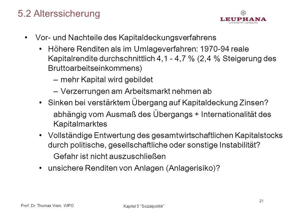 Prof. Dr. Thomas Wein, WIPO 21 Kapitel 5