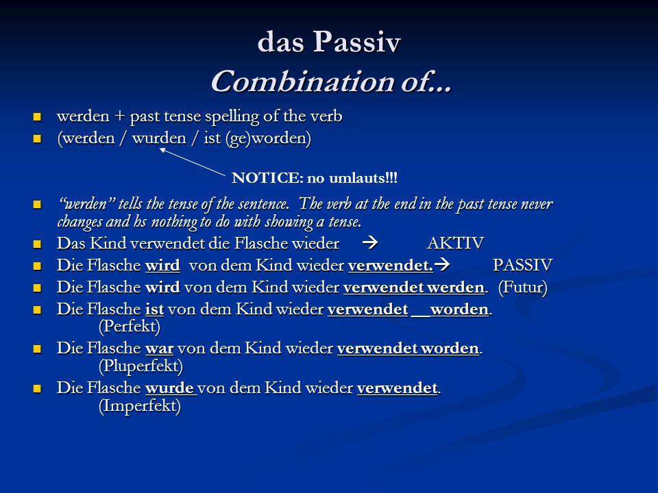 werden + past tense spelling of the verb werden + past tense spelling of the verb (werden / wurden / ist (ge)worden) (werden / wurden / ist (ge)worden