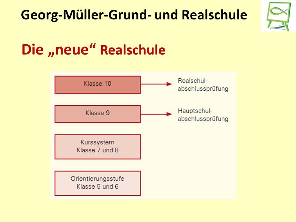 """Georg-Müller-Grund- und Realschule Die """"neue Realschule"""