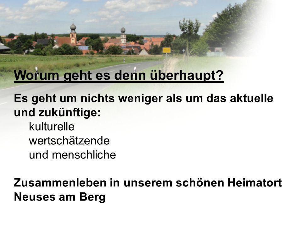 FC Neuses am Berg 2.Welche Aufgaben übernimmt der Verein für die Gesellschaft?.