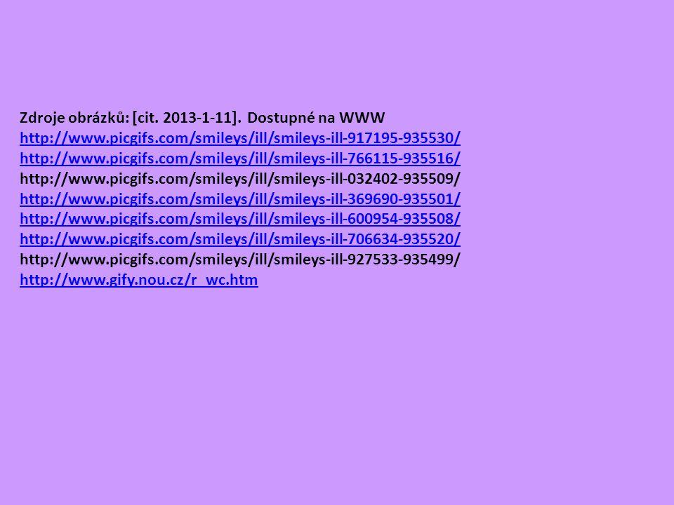 Zdroje obrázků: [cit. 2013-1-11].