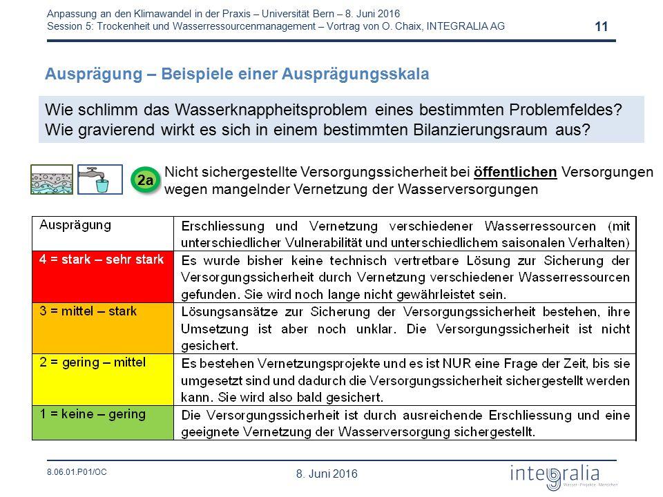 8.06.01.P01/OC Anpassung an den Klimawandel in der Praxis – Universität Bern – 8.