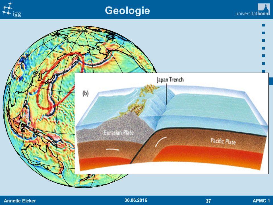 Annette EickerAPMG 1 37 30.06.2016 Geologie