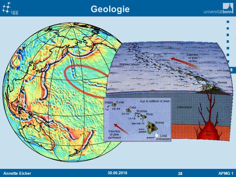 Annette EickerAPMG 1 38 30.06.2016 Geologie