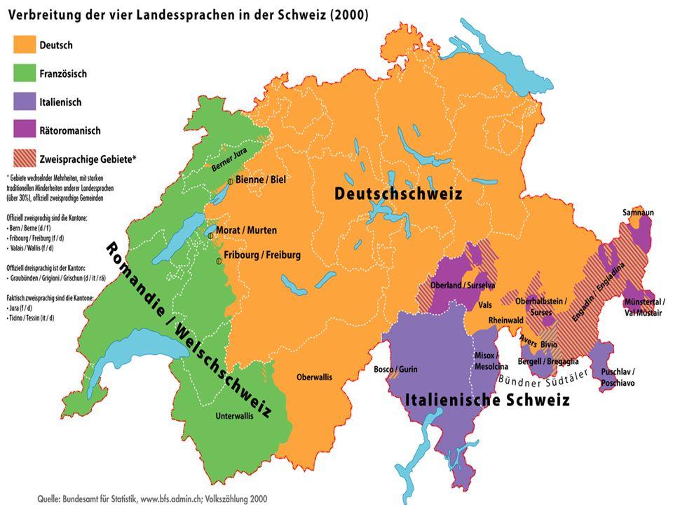 S CHWEIZERDEUTSCH Schweizerdeutsch ist eine Sammelbezeichnung für die in der Deutschschweiz gesprochenen alemannischen Dialekte.