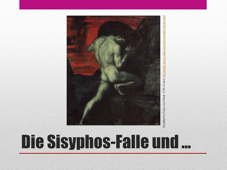Die Sisyphos-Falle und … Sisyphus by Franz von Stuck, 1920.
