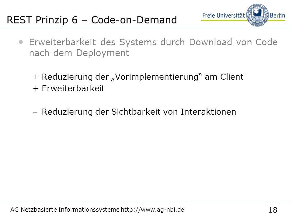 """18 Erweiterbarkeit des Systems durch Download von Code nach dem Deployment +Reduzierung der """"Vorimplementierung"""" am Client +Erweiterbarkeit Reduzieru"""