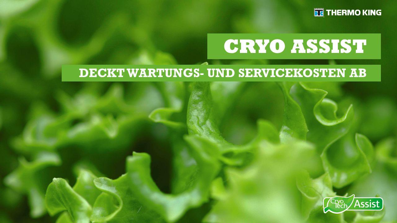 CRYO ASSIST DECKT WARTUNGS- UND SERVICEKOSTEN AB