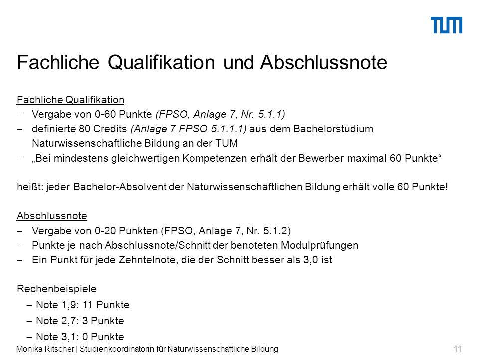 Fachliche Qualifikation  Vergabe von 0-60 Punkte (FPSO, Anlage 7, Nr.