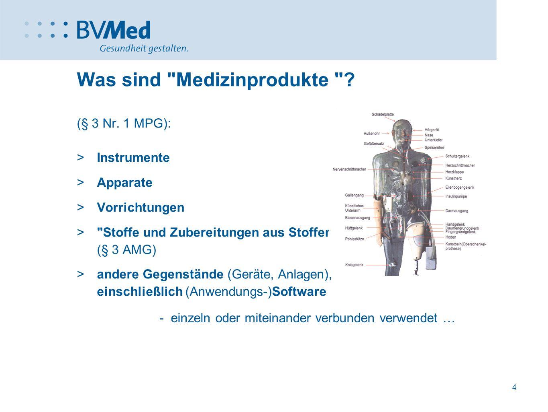5 Was sind Medizinprodukte .(medizinische) Zweckbestimmung (§ 3 Nr.