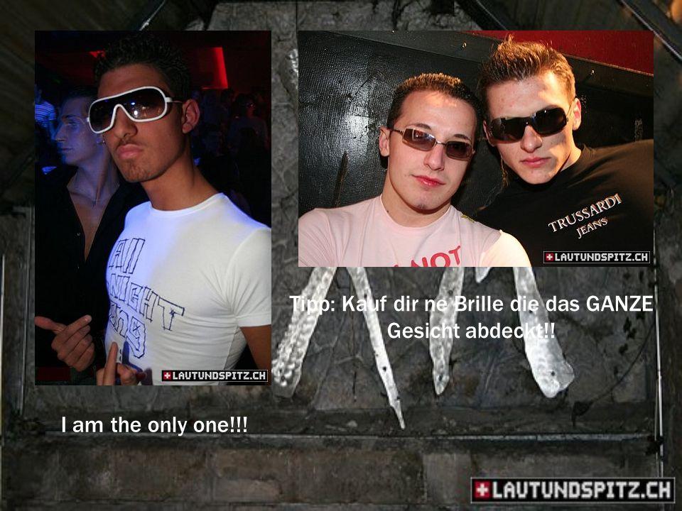 I am the only one!!! Tipp: Kauf dir ne Brille die das GANZE Gesicht abdeckt!!