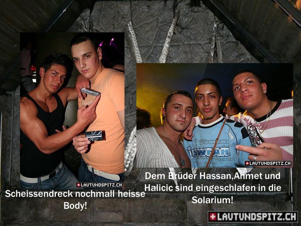 Dem Brüder Hassan,Ahmet und Halicic sind eingeschlafen in die Solarium.