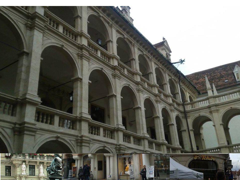 Viele Gebäude im Graz sind im Barockstil gebaut.