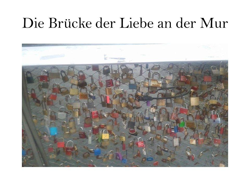 Die Brücke der Liebe an der Mur