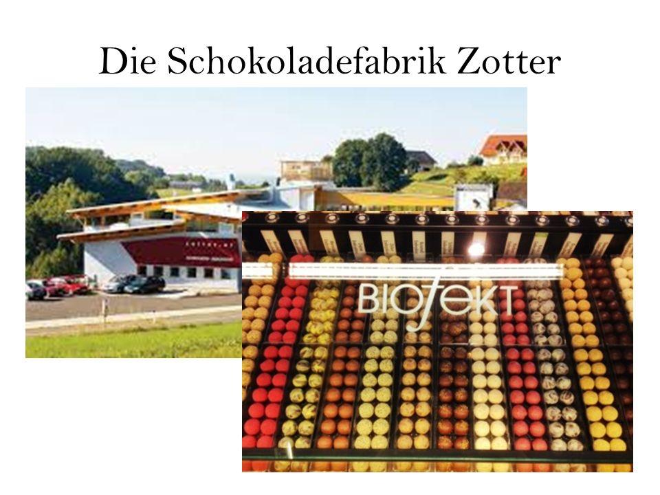 Die Schokoladefabrik Zotter
