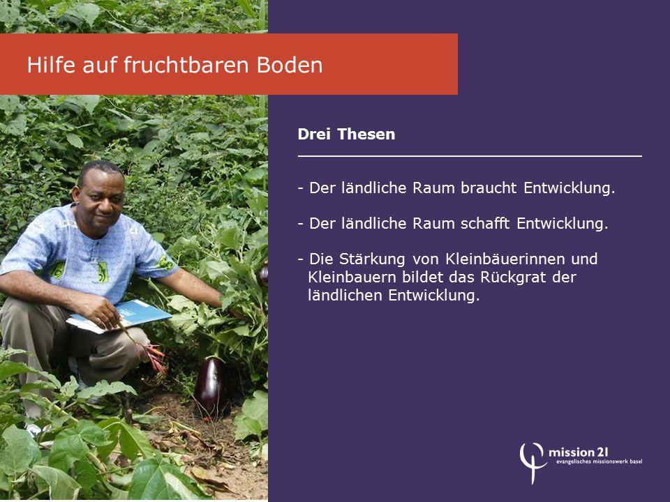 Drei Thesen - Der ländliche Raum braucht Entwicklung.
