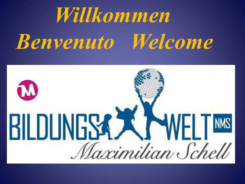 Willkommen Benvenuto Welcome