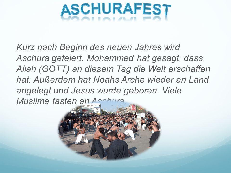 Das Opferfest soll die Muslimen an Abraham erinnern. Es ist das höchste Fest des Islams. Muslime feiern, dass Gott keine Opfer, und schon gar keine Me
