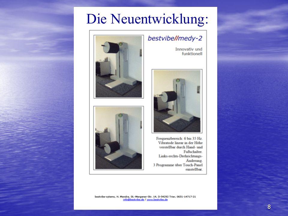 www.bestvibe.de8 Die Neuentwicklung: