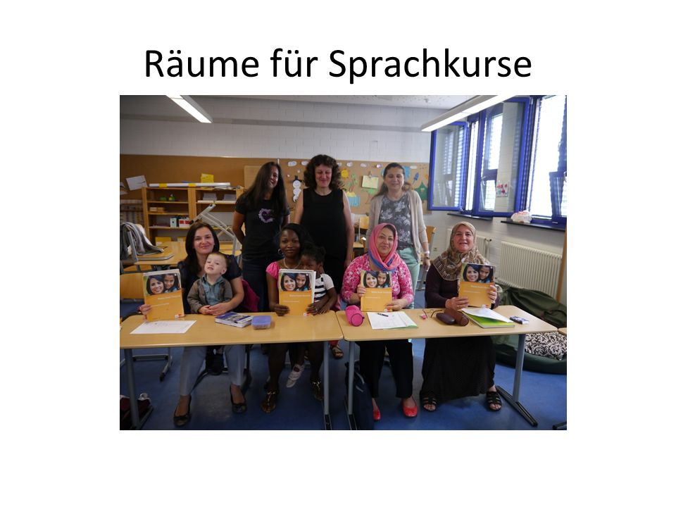 Räume für Sprachkurse