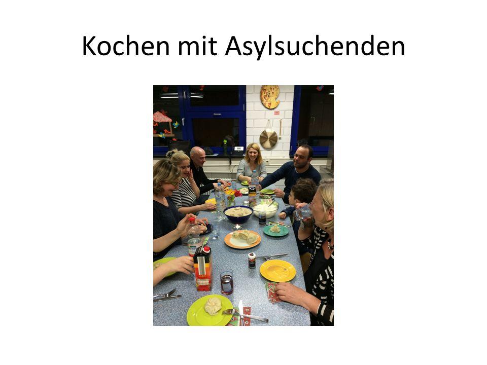 Kochen mit Asylsuchenden