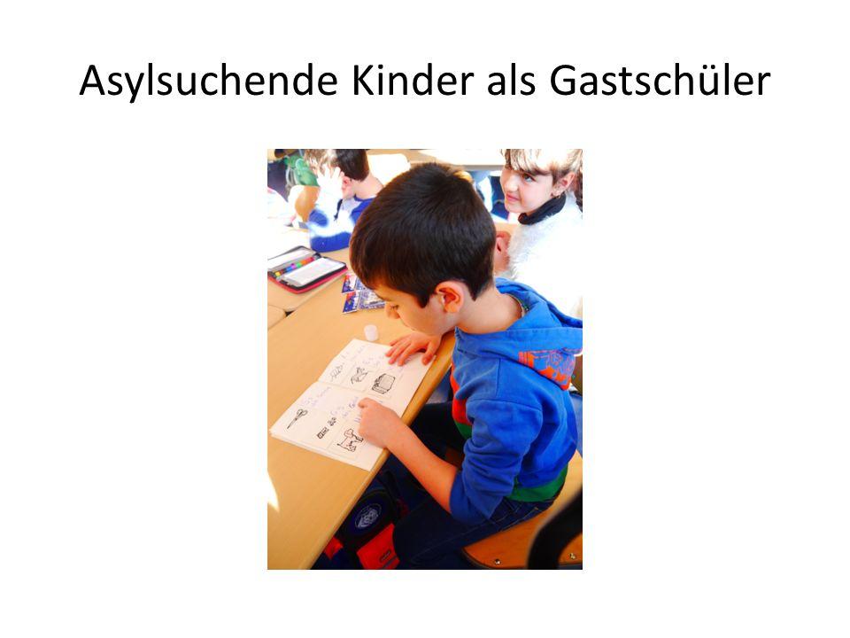 Asylsuchende Kinder als Gastschüler