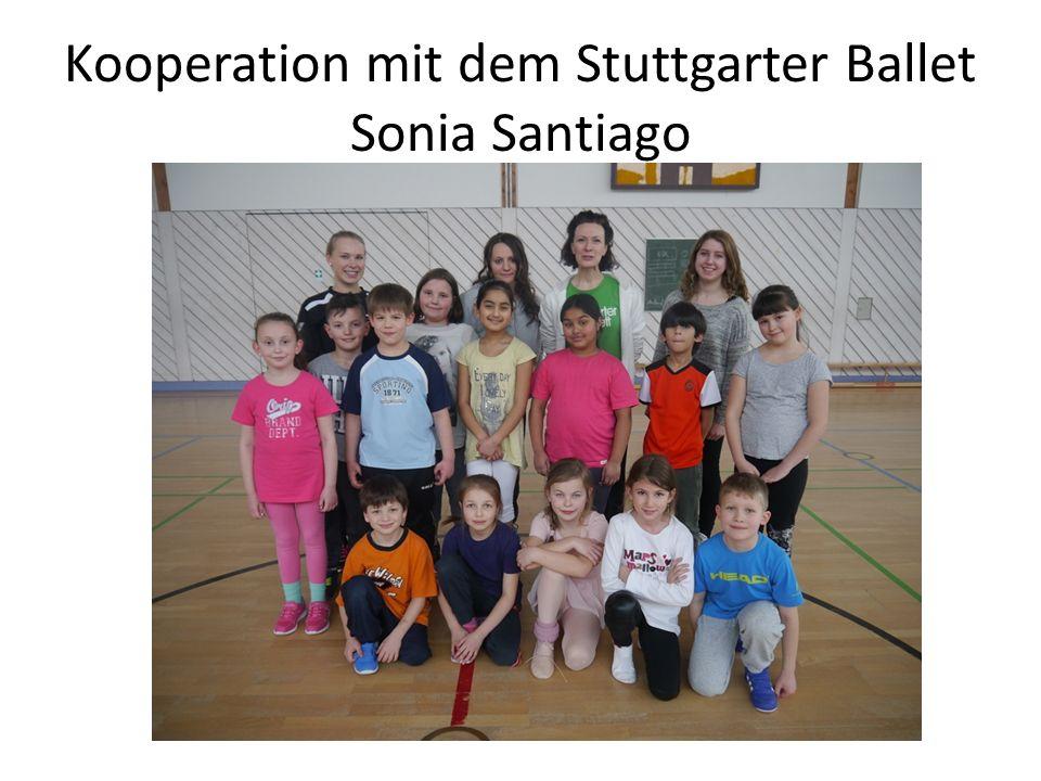 Kooperation mit dem Stuttgarter Ballet Sonia Santiago