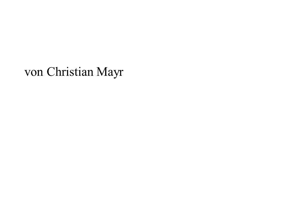 von Christian Mayr