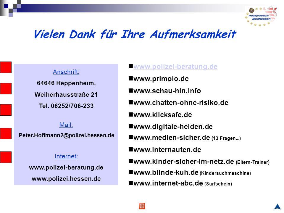 Anschrift: 64646 Heppenheim, Weiherhausstraße 21 Tel.