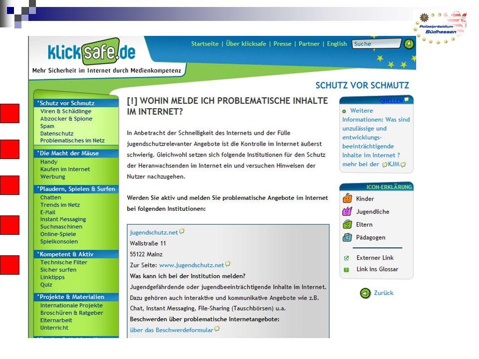 Empfehlung für Eltern Der richtige Umgang mit dem Internet will gelernt sein.