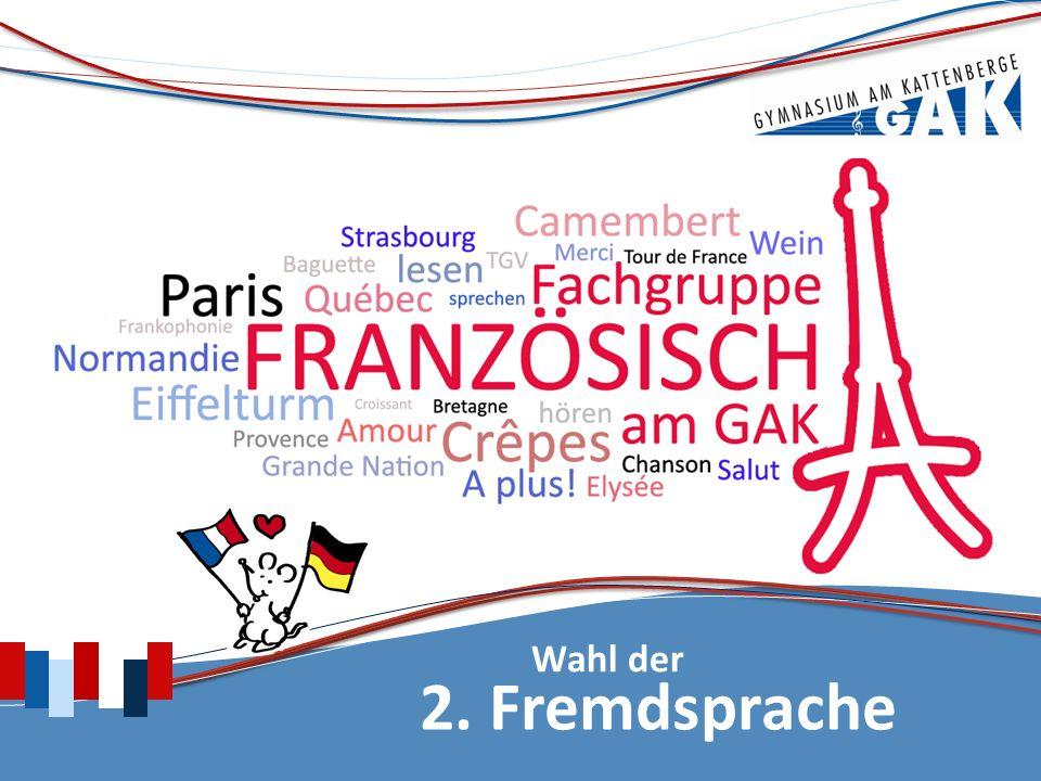 2. Fremdsprache Wahl der
