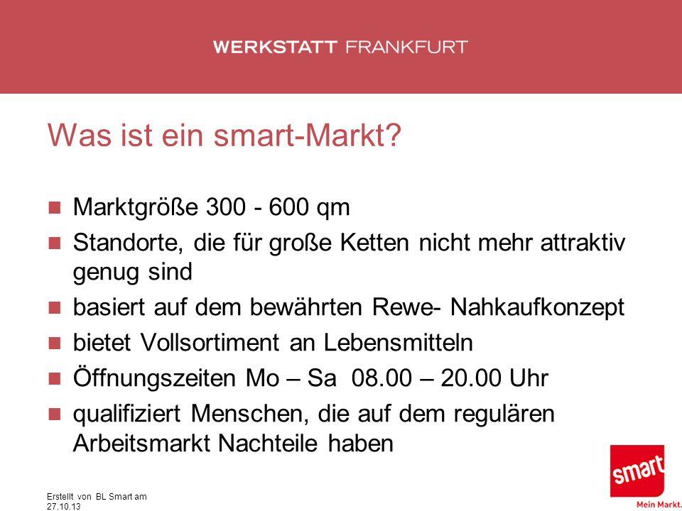 Was ist ein smart-Markt.