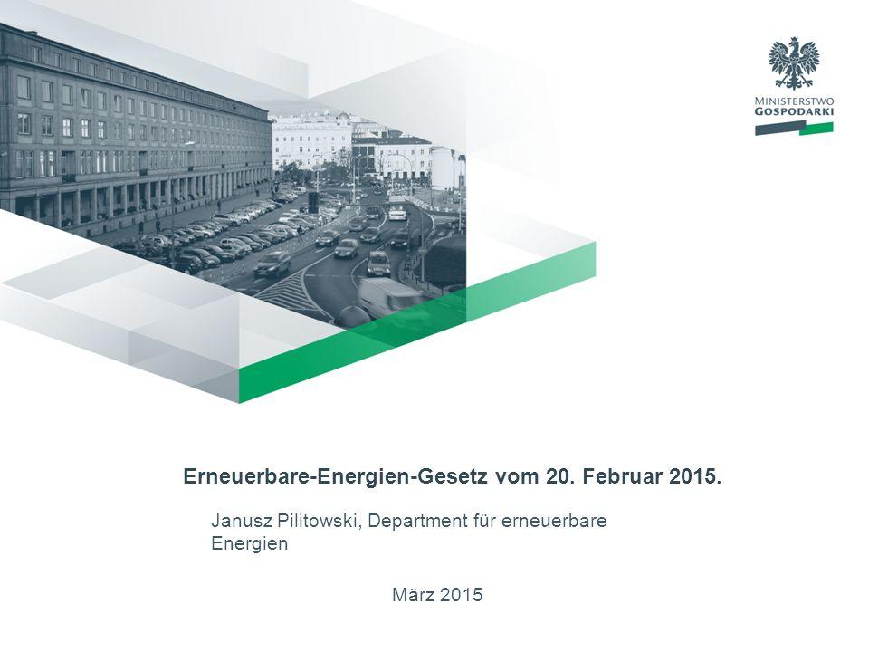 März 2015 Erneuerbare-Energien-Gesetz vom 20.Februar 2015.