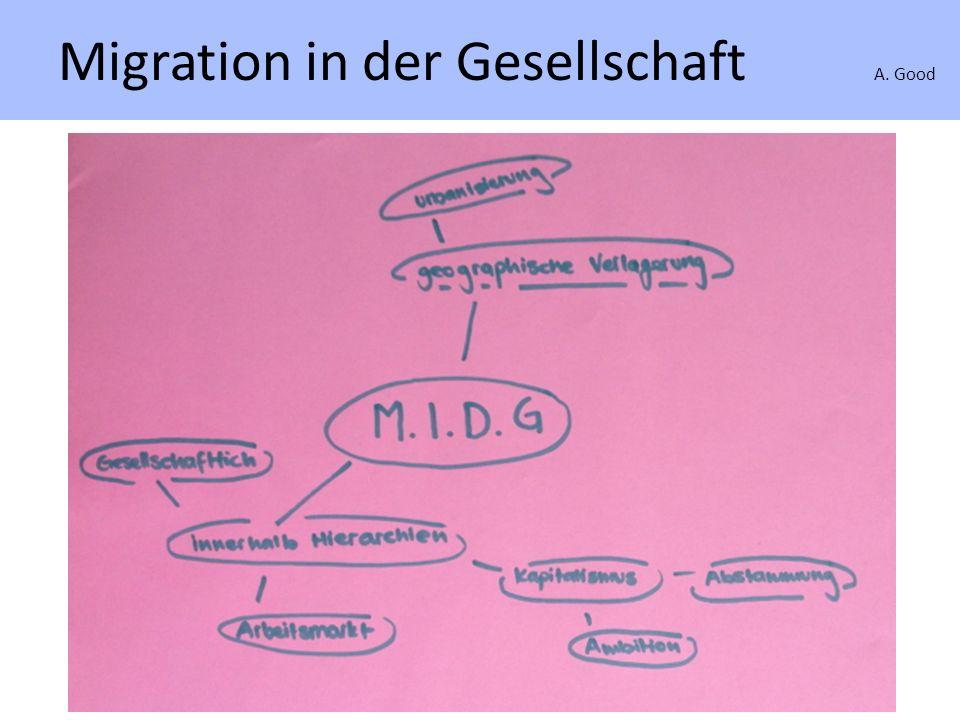 Migration A. Good Schweizer Emigranten