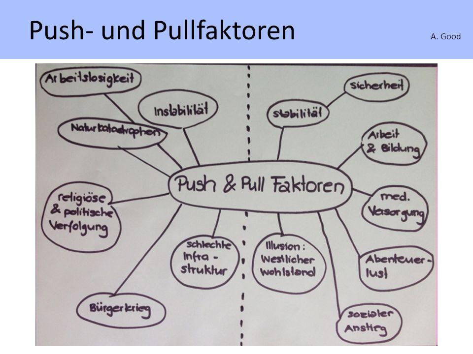 Push- und Pullfaktoren A. Good Push- und Pullfaktoren