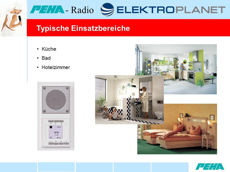 Küche Bad Hotelzimmer Typische Einsatzbereiche - Radio