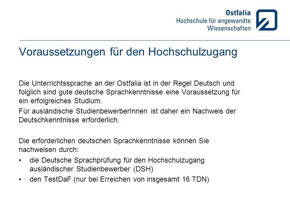 AnsprechpartnerInnen Immatrikulationsbüro Beratung ausländischer Studienbewerber Hans-Georg Ranke Büro WF, Am Exer 1 E-Mail h-g.ranke@ostfalia.de Bewerberhotline: 05331-939-77770