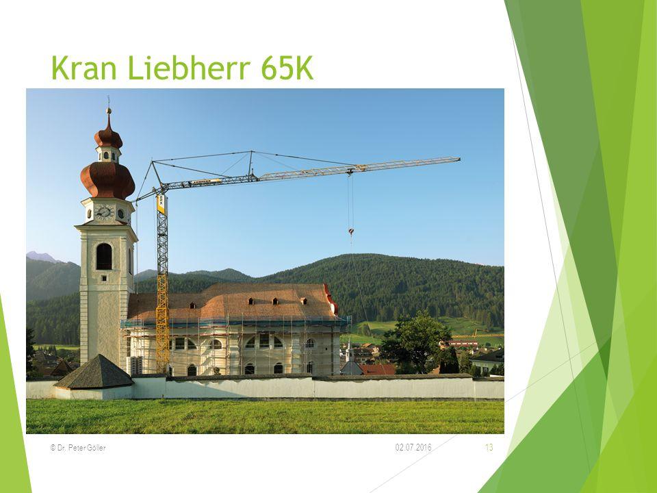 Kran Liebherr 65K 02.07.2016© Dr. Peter Göller 13