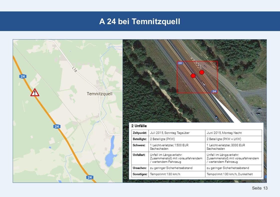 Seite 13 A 24 bei Temnitzquell