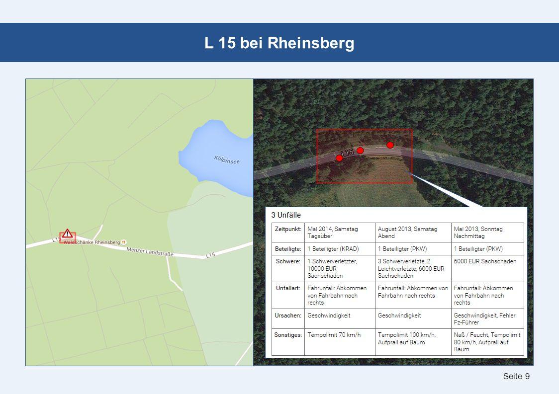 Seite 9 L 15 bei Rheinsberg