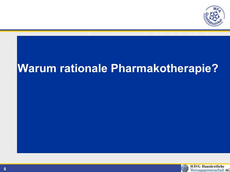 5 Warum rationale Pharmakotherapie