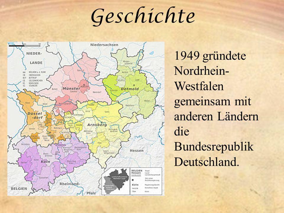 Bevölkerung Das Land Nordrhein- Westfalen hat 17.638.098 Einwohner und ist damit das bevölkerungsreichste deutsche Land.