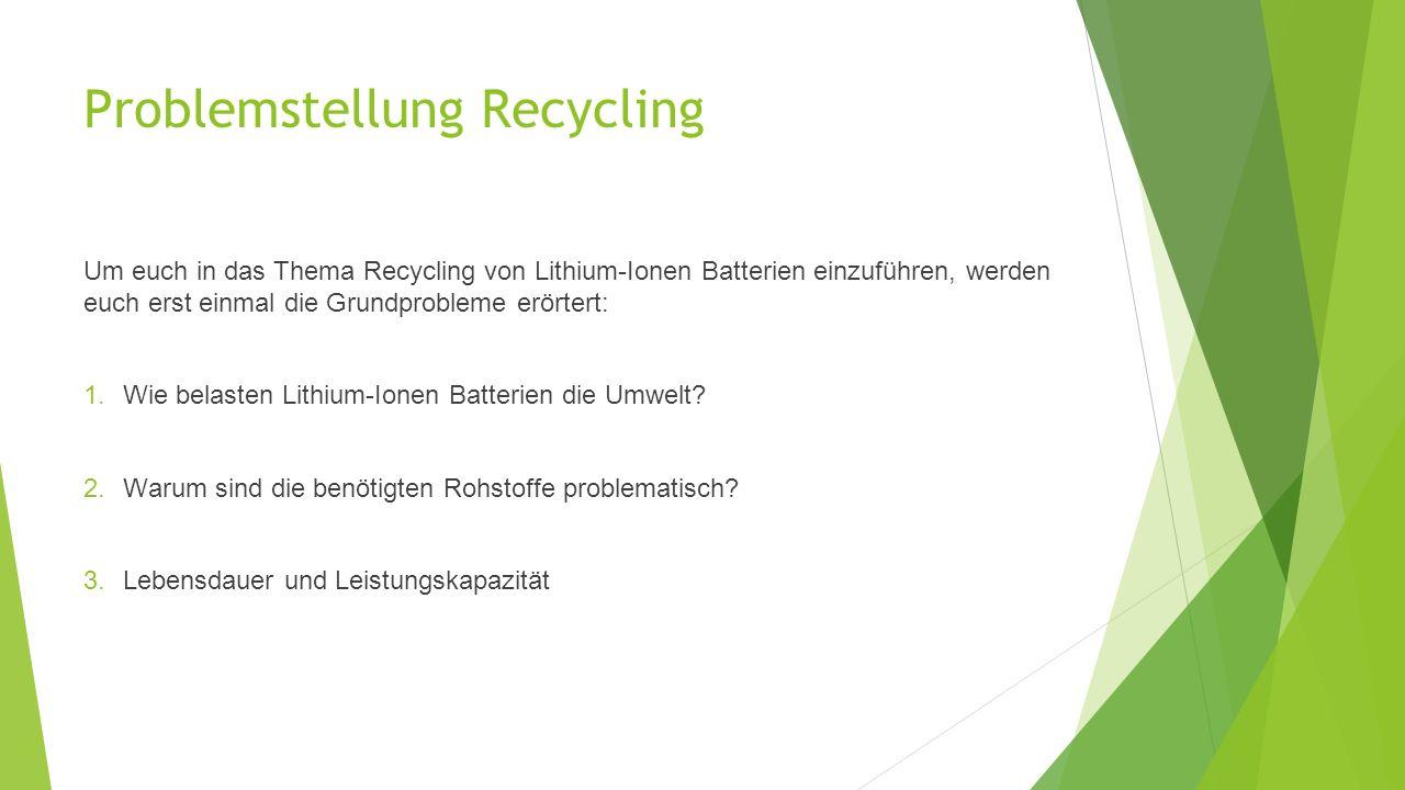 Wie funktioniert Recycling von Lithium-Ionen Batterien? Der UHT-Prozess von Umicore