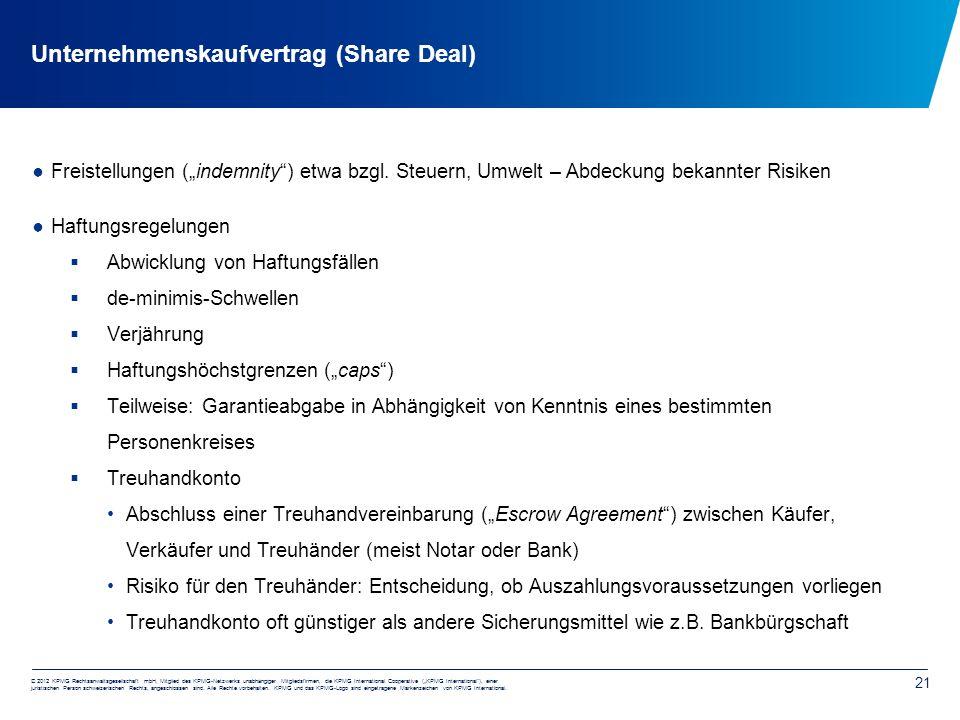 """© 2012 KPMG Rechtsanwaltsgesellschaft mbH, Mitglied des KPMG-Netzwerks unabhängiger Mitgliedsfirmen, die KPMG International Cooperative (""""KPMG International ), einer juristischen Person schweizerischen Rechts, angeschlossen sind."""
