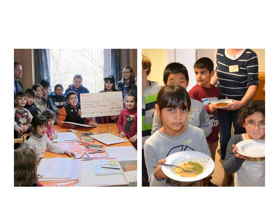 Um den Ablauf in der Kindertafel gewährleisten zu können, benötigt die Kindertafel Lüneburg jährlich ca.